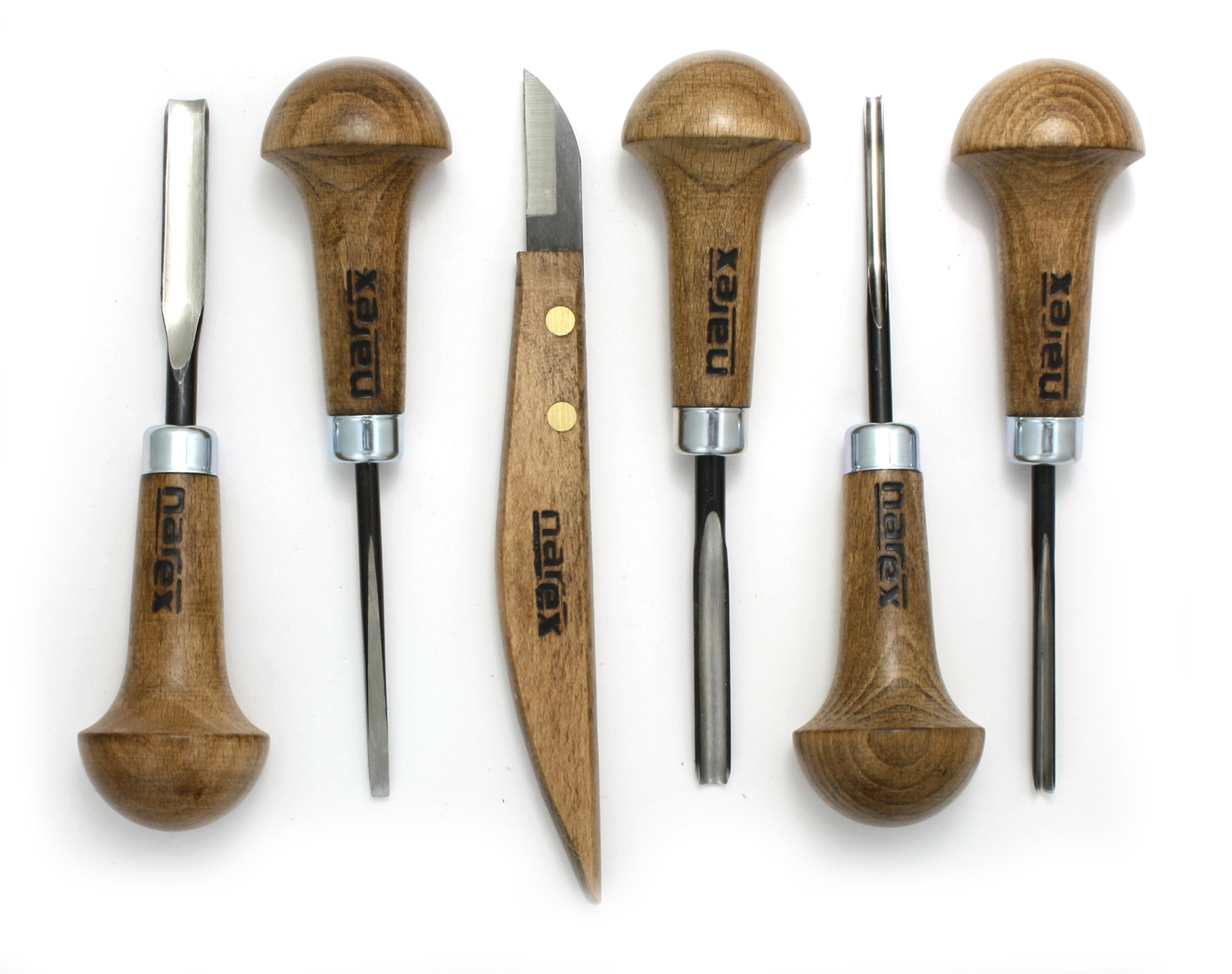 Narex Profi 6 piece Carving Set - TOMACO: The Tool Marketing Company